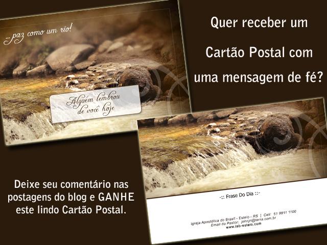 Receba Nosso Cartão Postal Iab Esteio