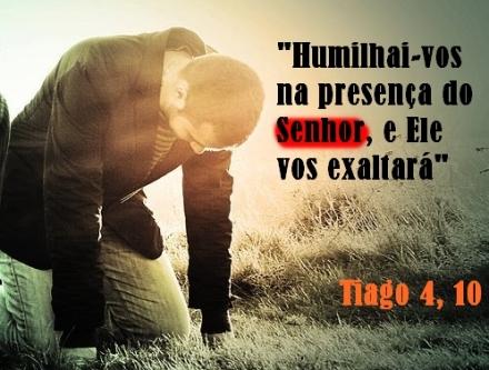 humilhar na presença do Senhor